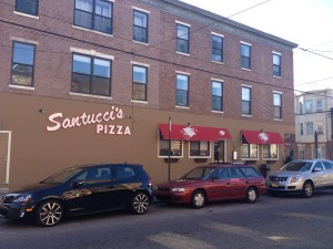 Santucci's Pizza at 10th & Christian Streets