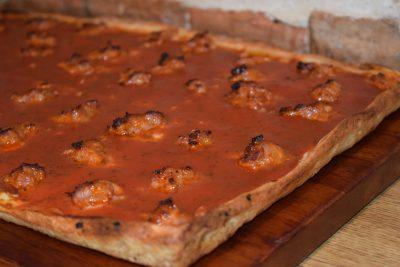 Santucci's Pizza Sausage Pizza
